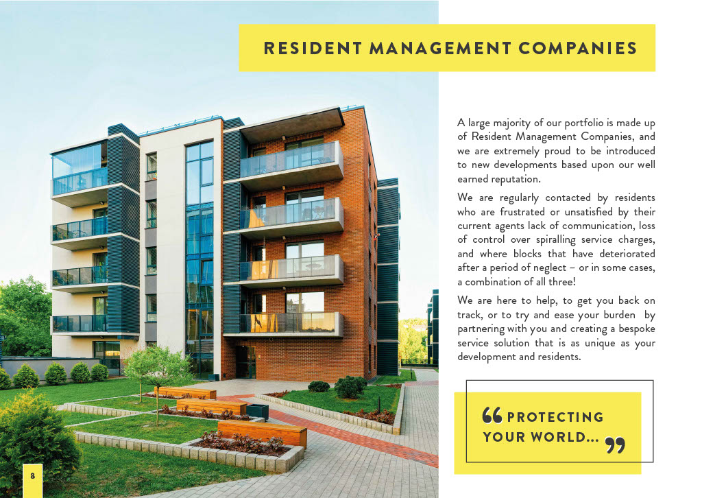 Realty Management's Brochure Page 8