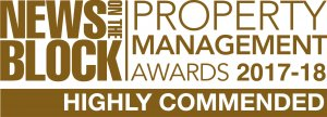 News on the Block Property Management Awards 2017-18 High Commended logo