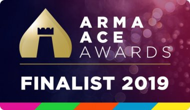 ARMA ACE Awards Finalist 2019 logo