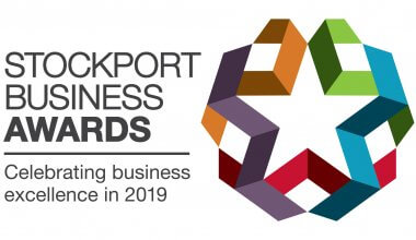 Stockport Business Awards 2019 logo