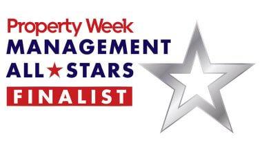Property Week Management All Stars Finalist logo