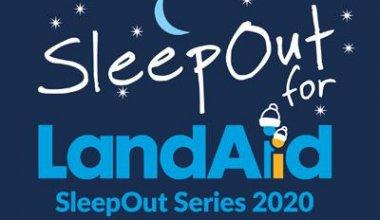 Sleep Out for LandAid 2020 logo