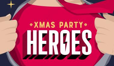 Xmas Party Heroes logo