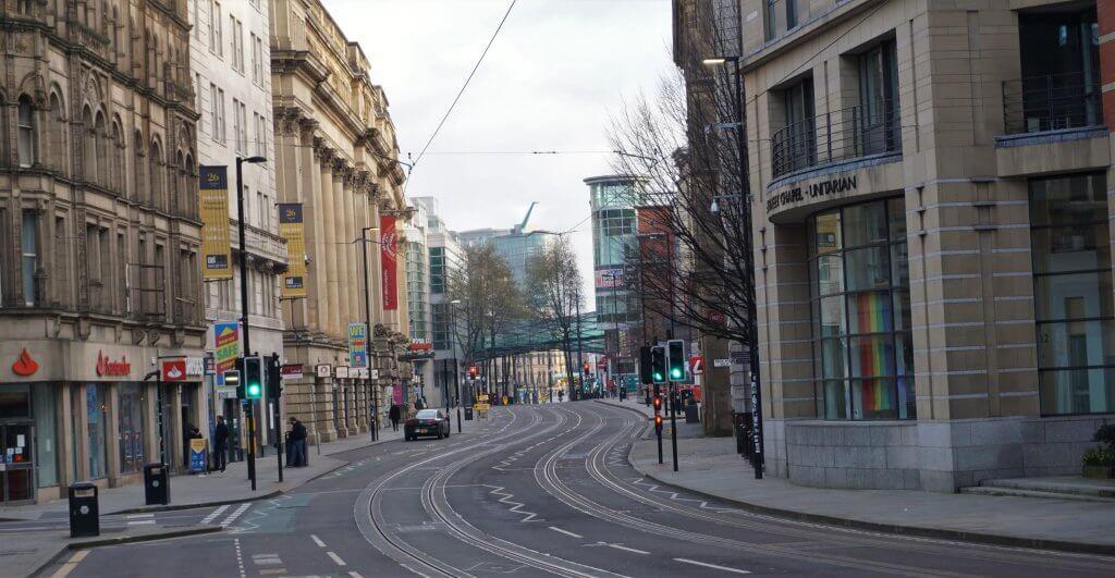 Image of city street